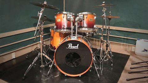 月桃荘で録音した生ドラム単発素材!単発のスネアやシンバルが約50種類!