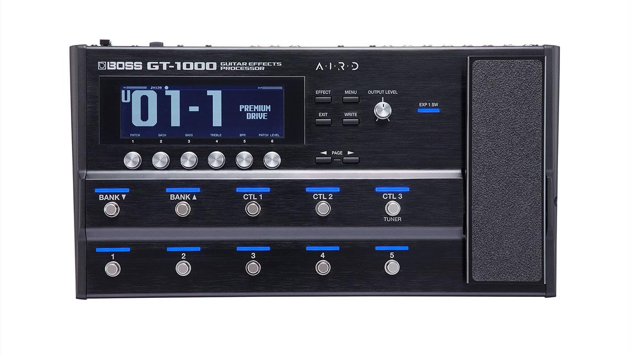 BOSS GT-1000 上から