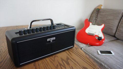 BOSSが世界初の完全ワイヤレスギターアンプ「KATANA-AIR」を発売!電池駆動で完全ワイヤレス環境が実現!