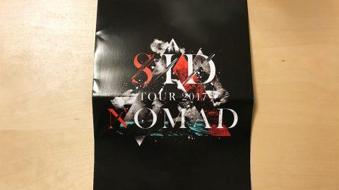 SID TOUR 2017「NOMAD」@東京国際フォーラムのレポート(セットリスト付き)