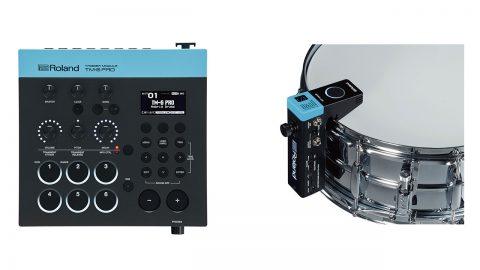 アコースティックドラムに電子音を組み合わせる音源「TM-6 PRO」とドラムトリガー「RT-MicS」が発表